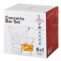 Concerto ensemble seau a glace+ 6 gobelets