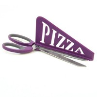 Ciseaux pizza violet