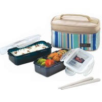 Lunch box 2 X 350ML